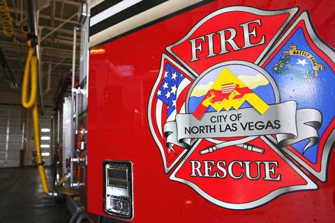 North Las Vegas Fire Department (Benjamin Hager/Las Vegas Review-Journal)