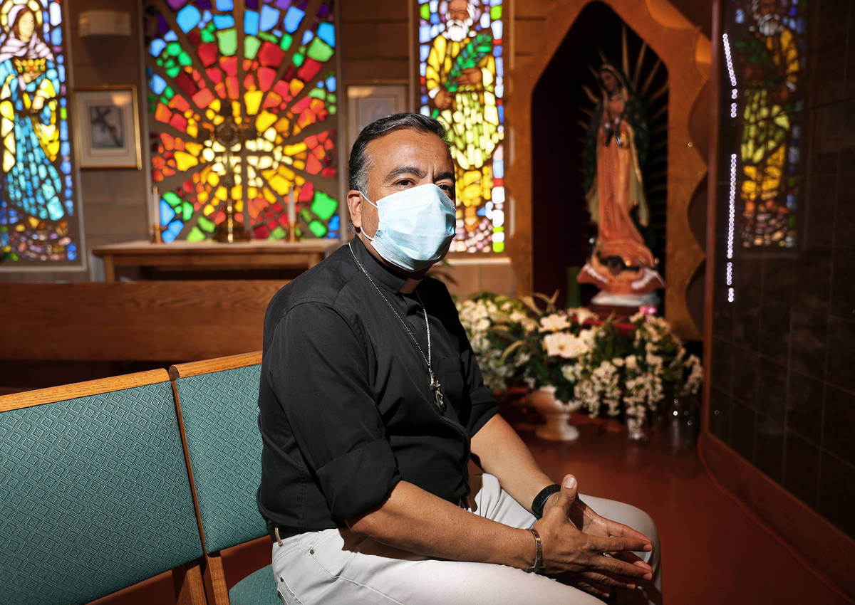 """""""There's a lot of anger right now. A lot of fear. A lot of anxiety,"""" said FatherRafael ..."""