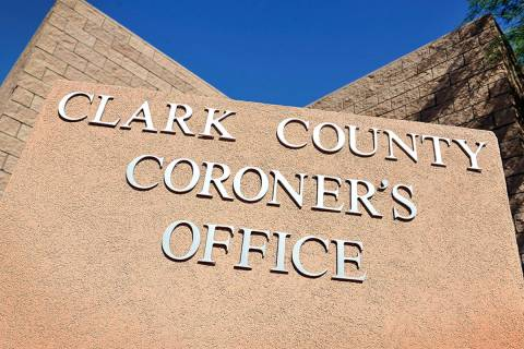 Clark County coroner's office (Review-Journal file photo)