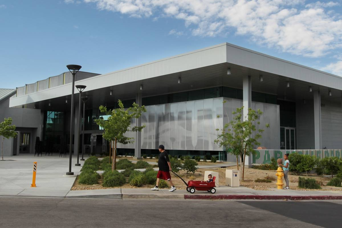 The Parkdale Recreation & Senior Center is seen in 2015. (Las Vegas Review-Journal)