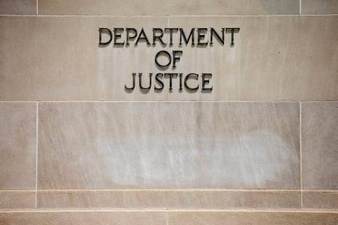 U.S. Department of Justice Building in Washington (AP Photo/File)