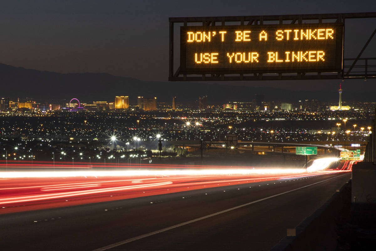 The Nevada Department of Transportation needs your ideas to make drivers smile, think and focus ...