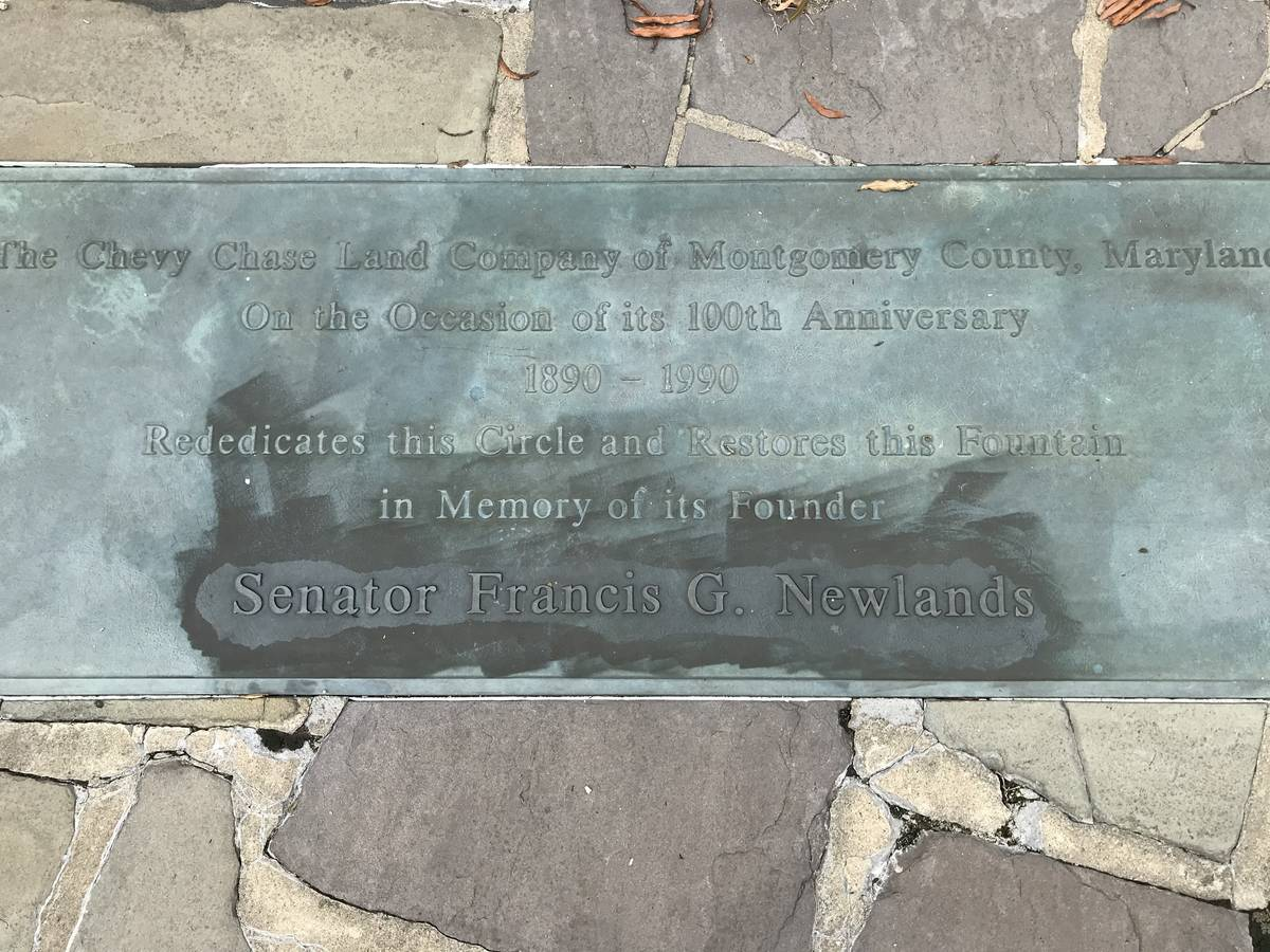 Lawmakers from the District of Columbia and Maryland are seeking the removal of a plaque, pictu ...