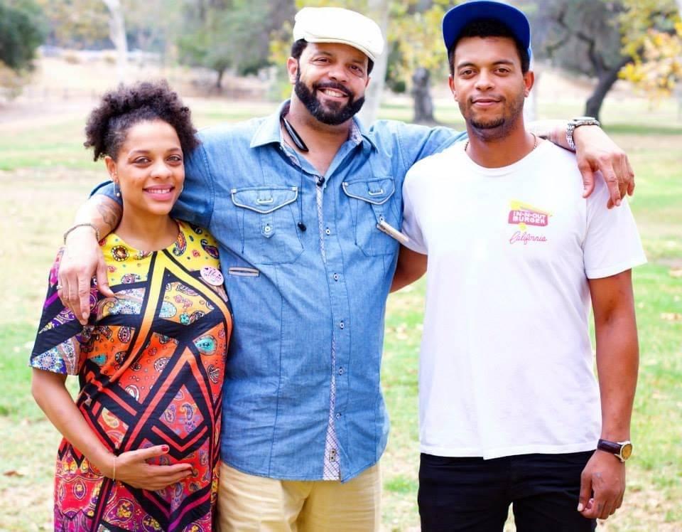 From left, Tai Hanson, Timothy Hanson and Ryan Hanson in Los Angeles in 2015 for Tai Hanson's b ...