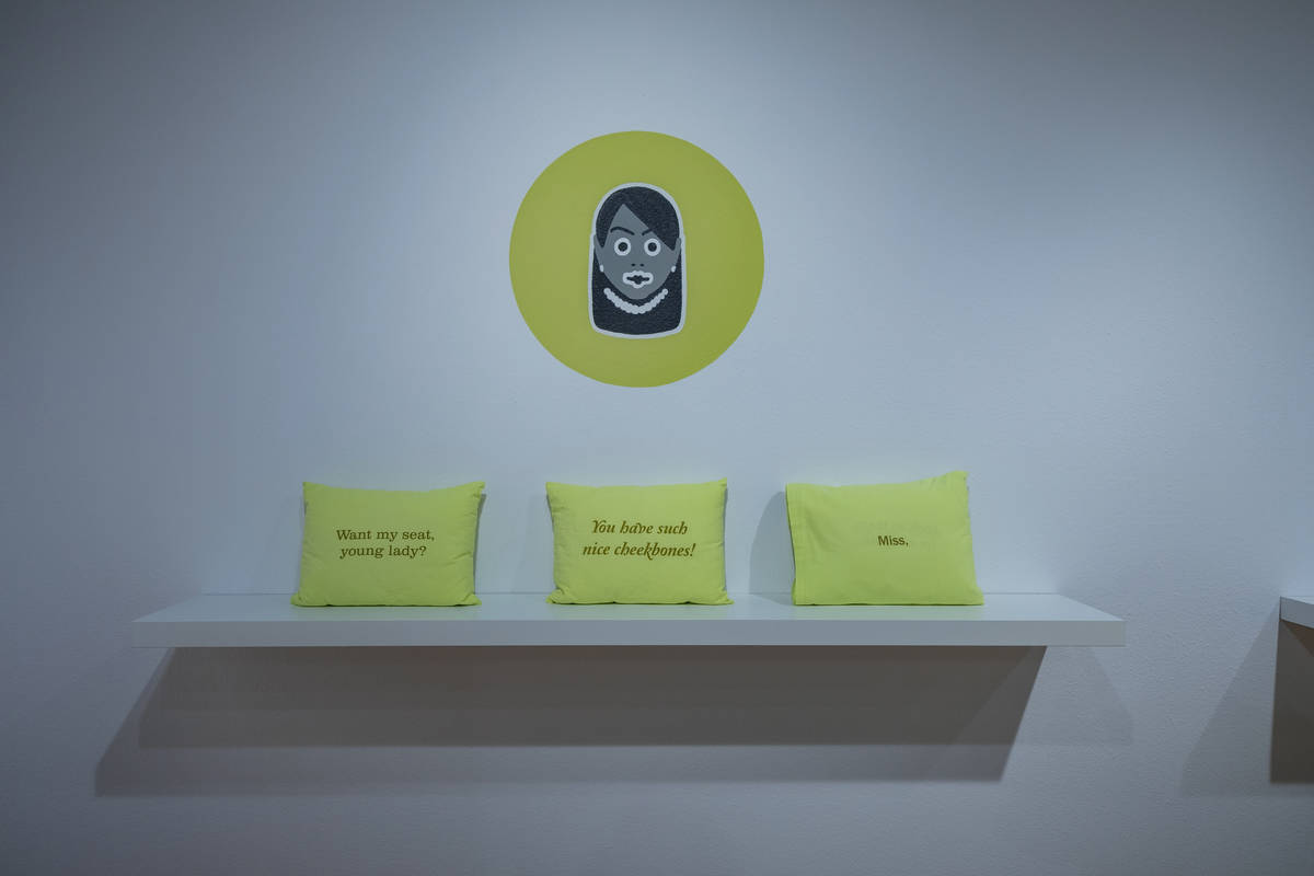 """Ashley Hairston Doughty's exhibit """"Kept to Myself"""" uses art and text to lead viewers in her exp ..."""