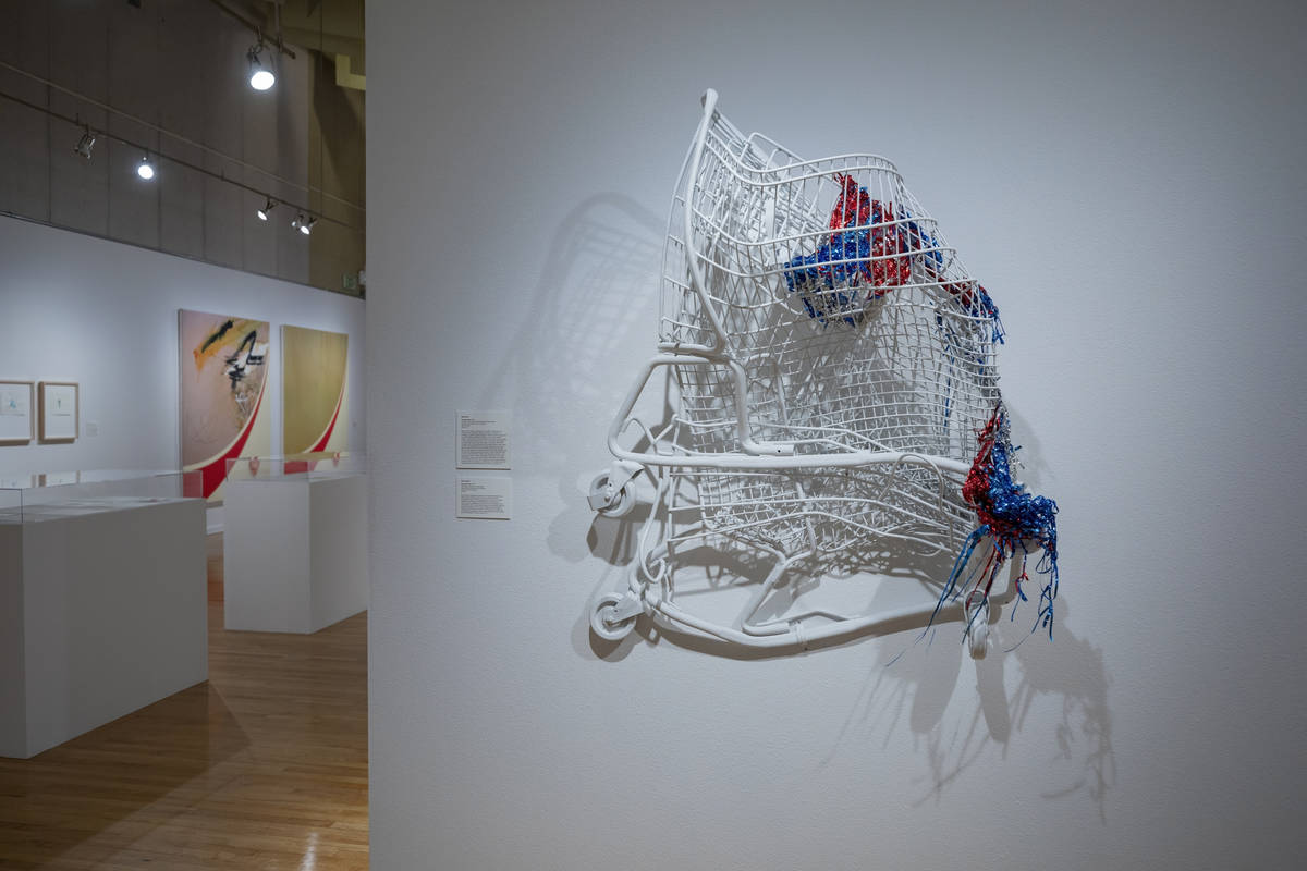 """Brent Holmes' """"Superbia Civilis"""" is featured in the exhibit """"Excerpts"""" at UNLV's Marjorie Barri ..."""