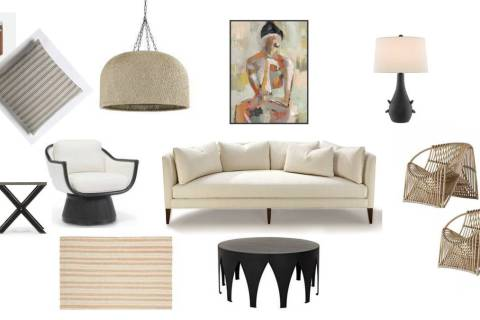 """Nicole Yee, owner of NY Interiors, participated in the Las Vegas Market's """"Build the Room"""" ..."""