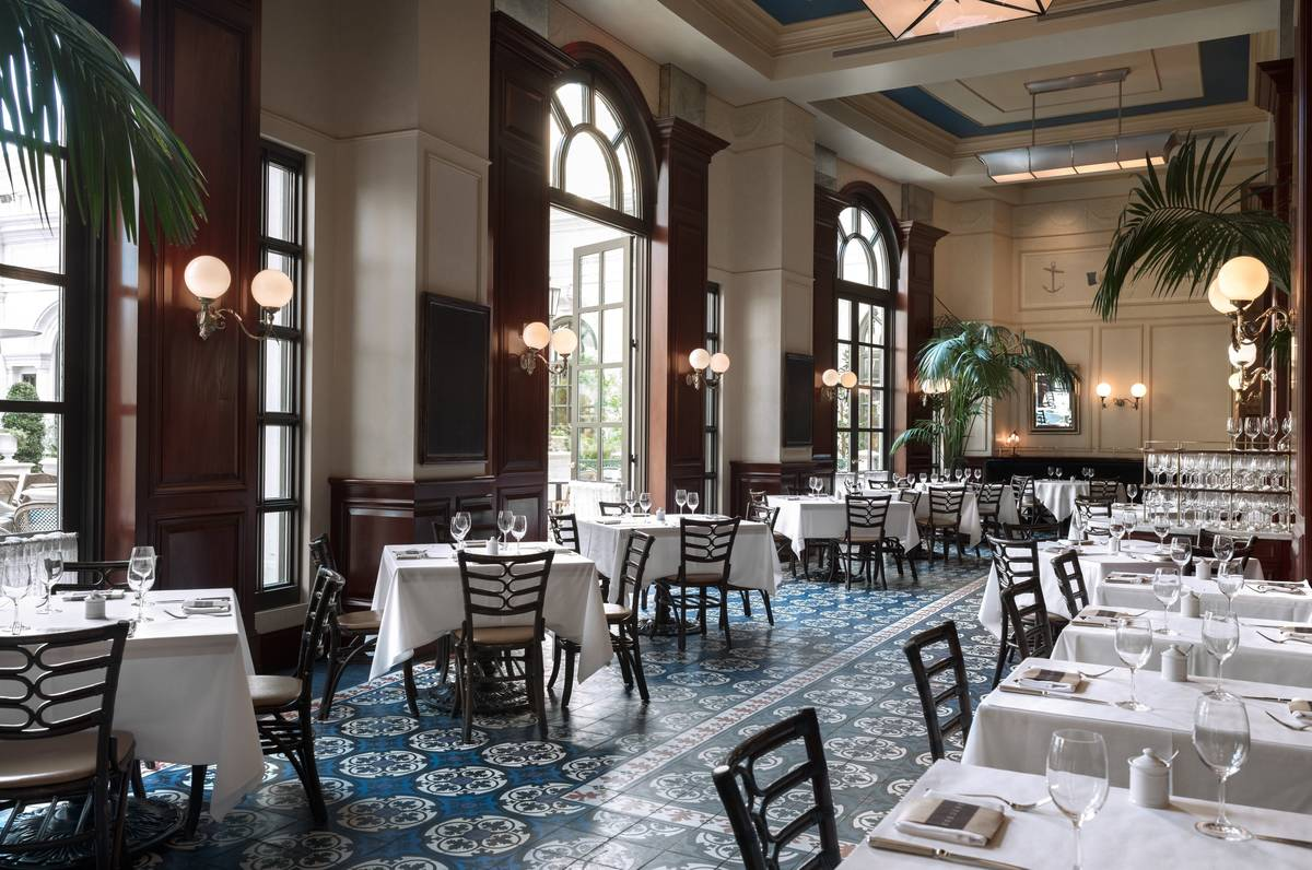 The dining room at Bouchon. (Bouchon)