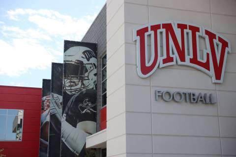 Fertitta Football Complex in Las Vegas, Tuesday, Aug. 11, 2020. (Erik Verduzco / Las Vegas Revi ...