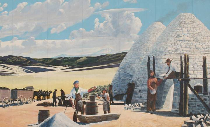 """More than 20 murals and sculptures can be found throughout Ely along the town's """" ..."""