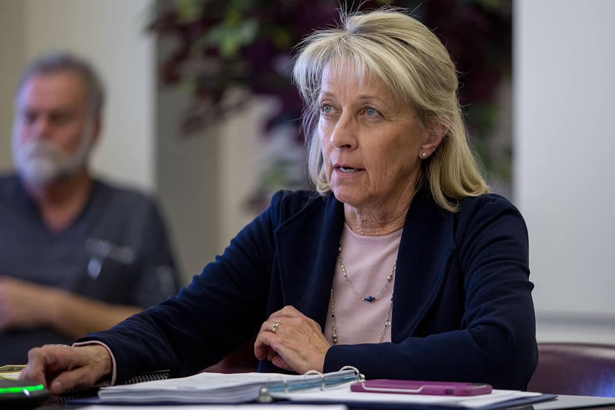 Nevada Secretary of State Barbara Cegavske on Monday, Aug. 17, 2020, sent a request to Gov. Ste ...