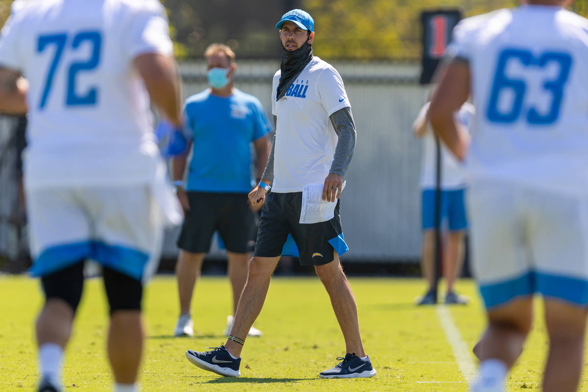 The Los Angeles Chargers open the acclimation period of Training Camp on Monday, August 3, 2020 ...