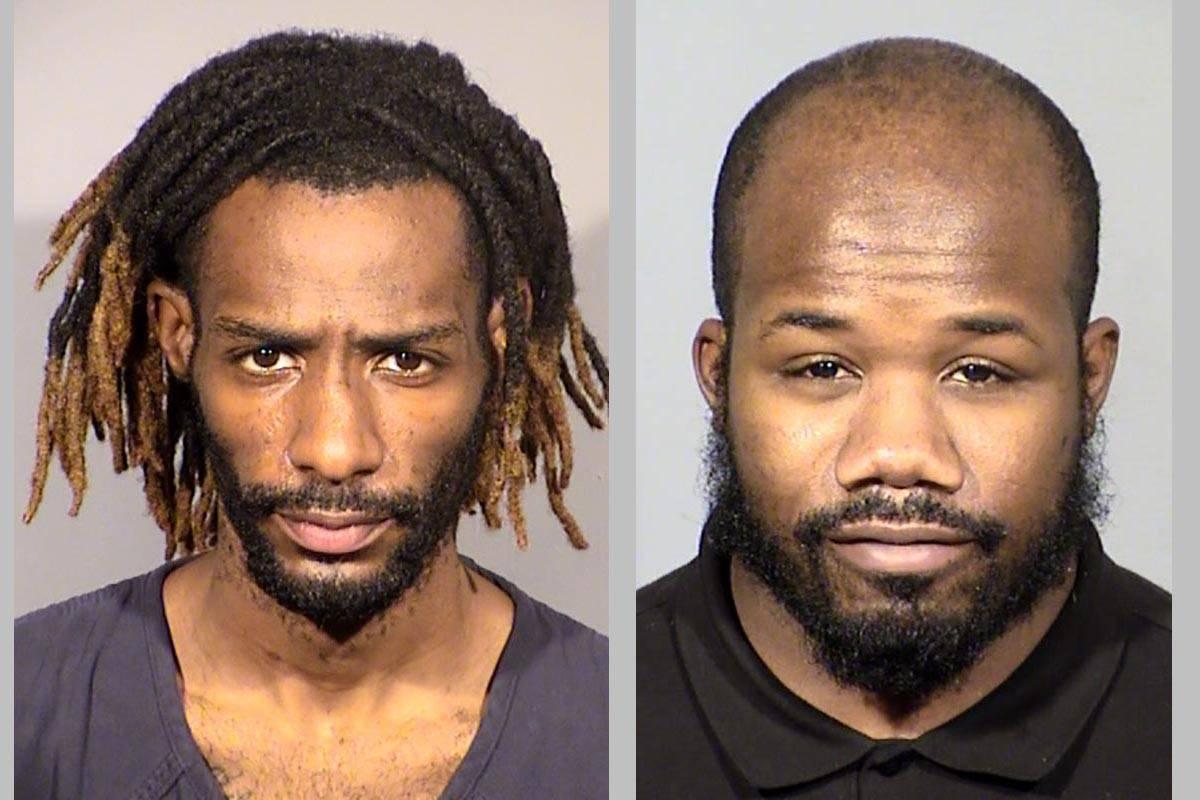 Jarreese Ford, left, and Desmond Cole. (Las Vegas Metropolitan Police Department)