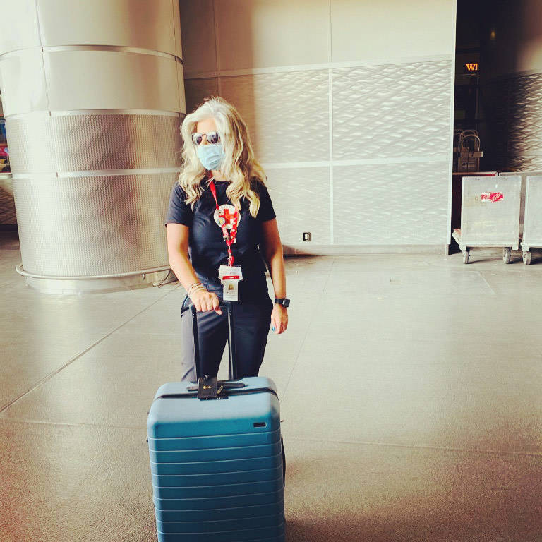 Emma Empey arrived in Baton Rouge, La., Sunday to help with hurricane relief. (Emma Empey)