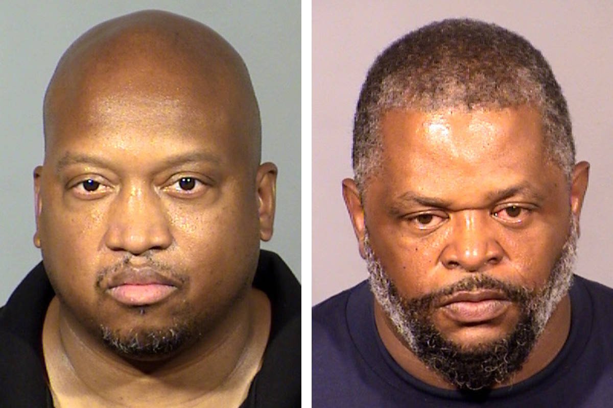 Kareem Brock, left, and Anthony Williams (Las Vegas Metropolitan Police Department)
