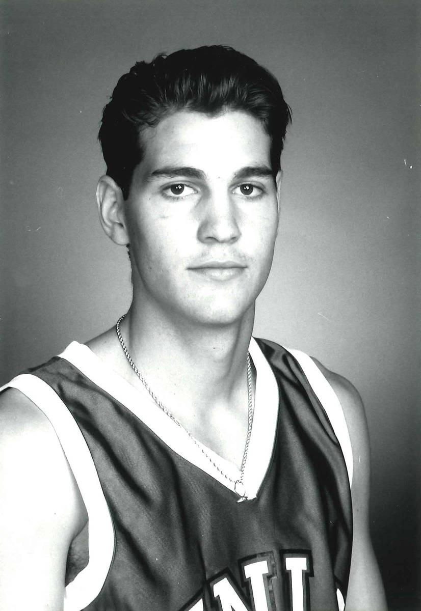 H Waldman in an undated photo at UNLV. Photo courtesy of UNLV athletics.
