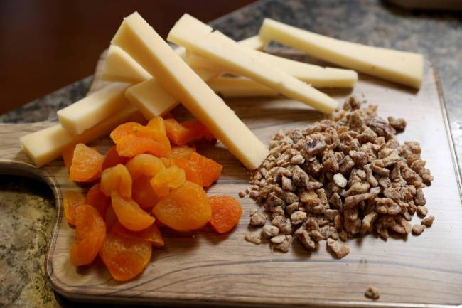 Semi-soft cheese Lamb Chopper, a sheep's milk gouda, goes well with something bright such as ...