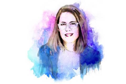 Stephanie Gibson (Illustration by Severiano del Castillo Galvan)