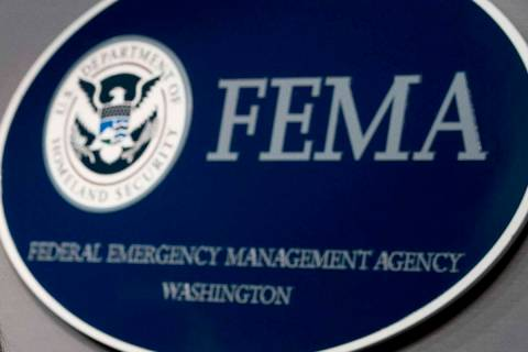 FEMA headquarters in Washington, Tuesday, Sept. 12, 2017. (AP Photo/Andrew Harnik)