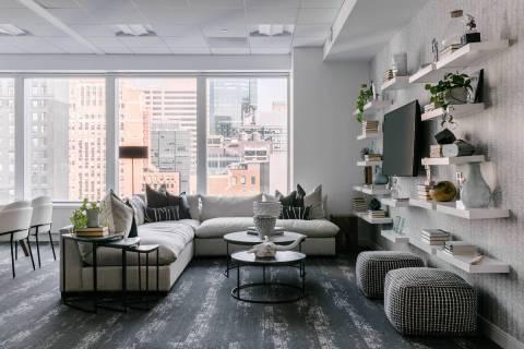 Eneia White of Eneia White Interiors in New York City said design has become more demanding bec ...