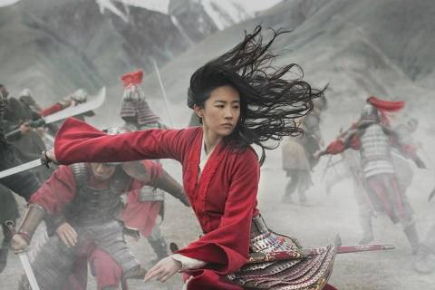 "Yifei Liu portrays the title character in Disney's ""Mulan."" (Disney+)"
