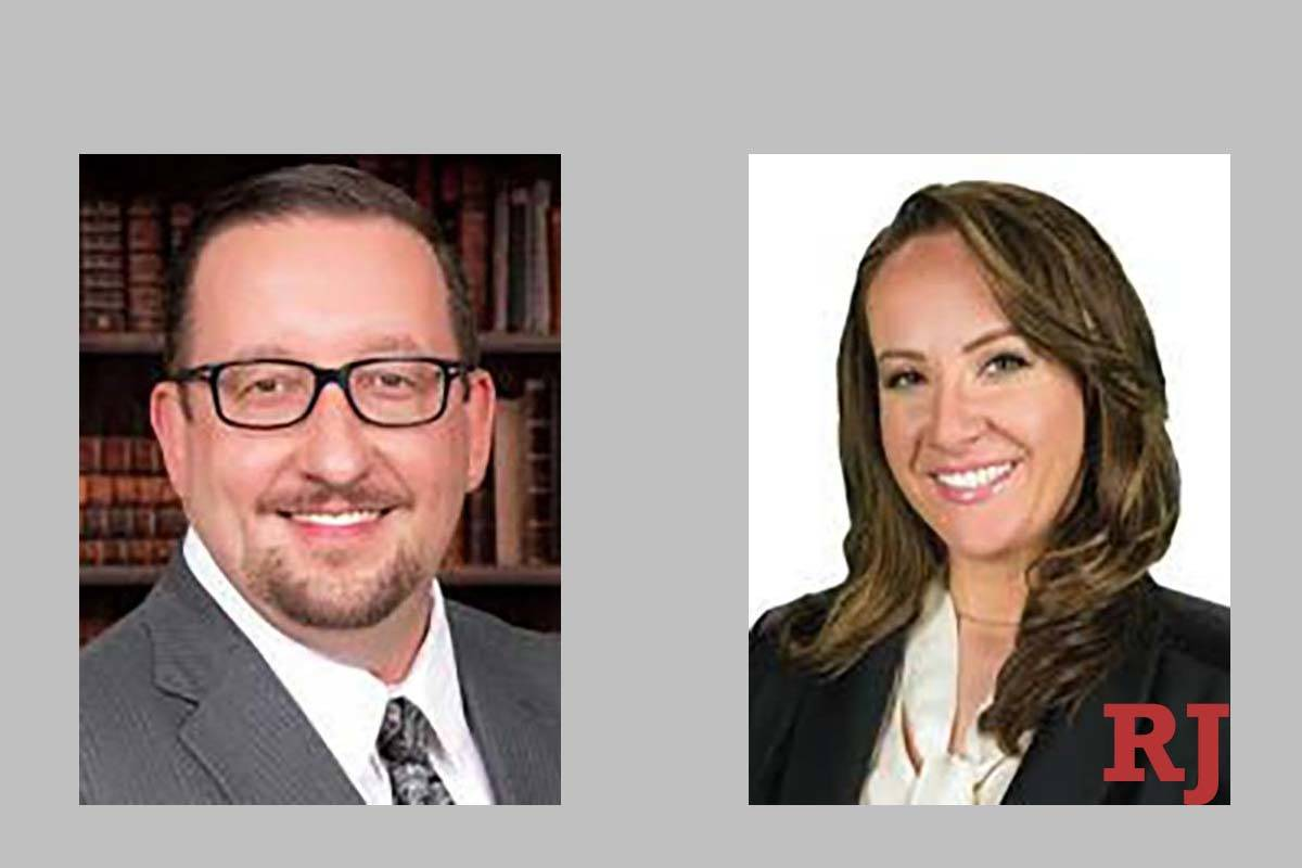 Jason Stoffel and Nadin Cutter, candidates for Family Court Department T (ason Stoffel for Judg ...