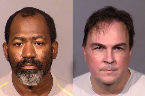 Lester Jenkins, left, and Timothy Bennett, right, were arrested by a task force targeting child ...