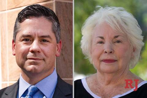 Steve Yeager and Barbara Altman, candidates for Nevada Assembly District 9 (Las Vegas ...