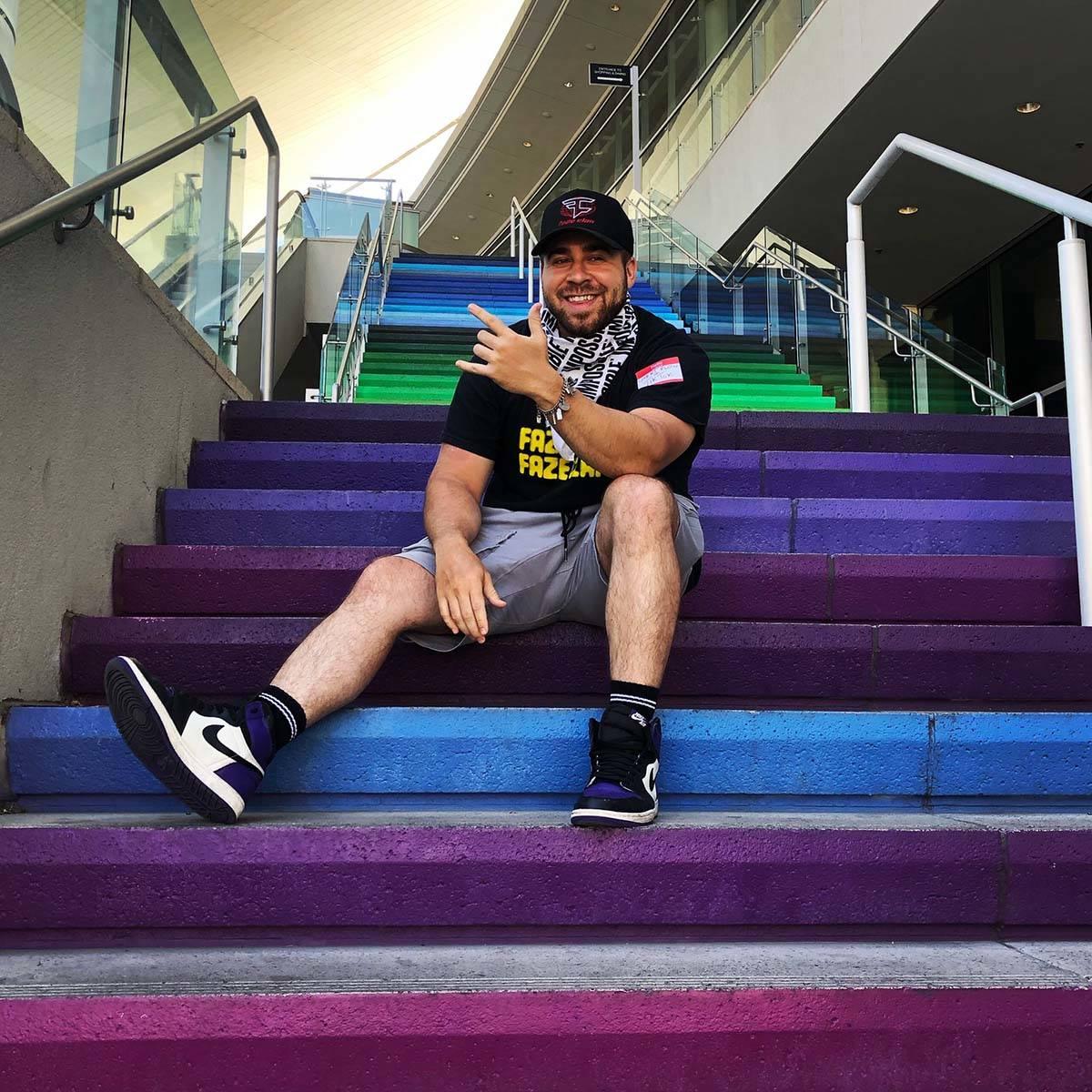 Las Vegas TikTok creator P.J. Brittain has amassed more than 1.7 million followers. (Photo cour ...