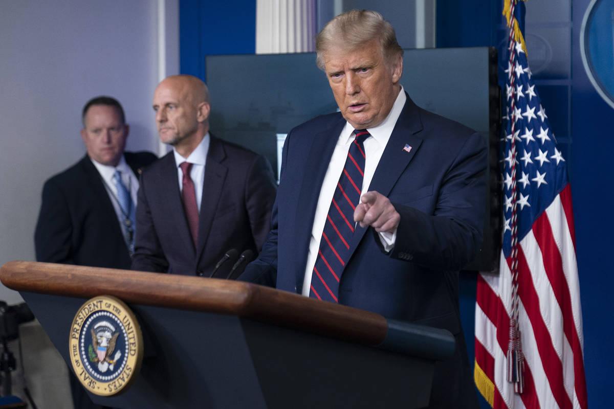 President Donald Trump. (AP Photo/Alex Brandon)