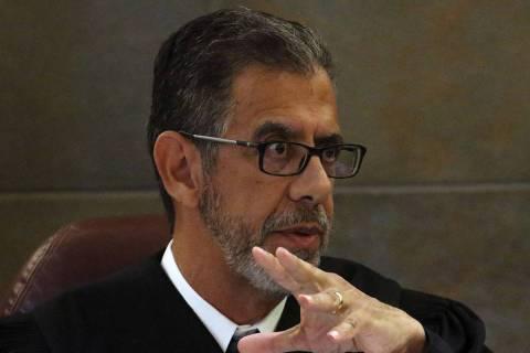 District Judge Michael Villani (Bizuayehu Tesfaye Las Vegas Review-Journal @bizutesfaye)