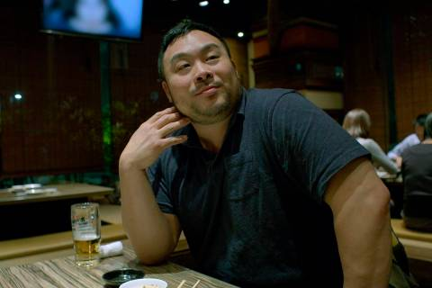 "David Chang will find out Sunday whether he's an Emmy winner for ""Ugly Delicious"" (Netflix)"