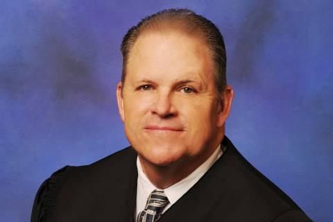 Clark County District Court Judge David Jones.