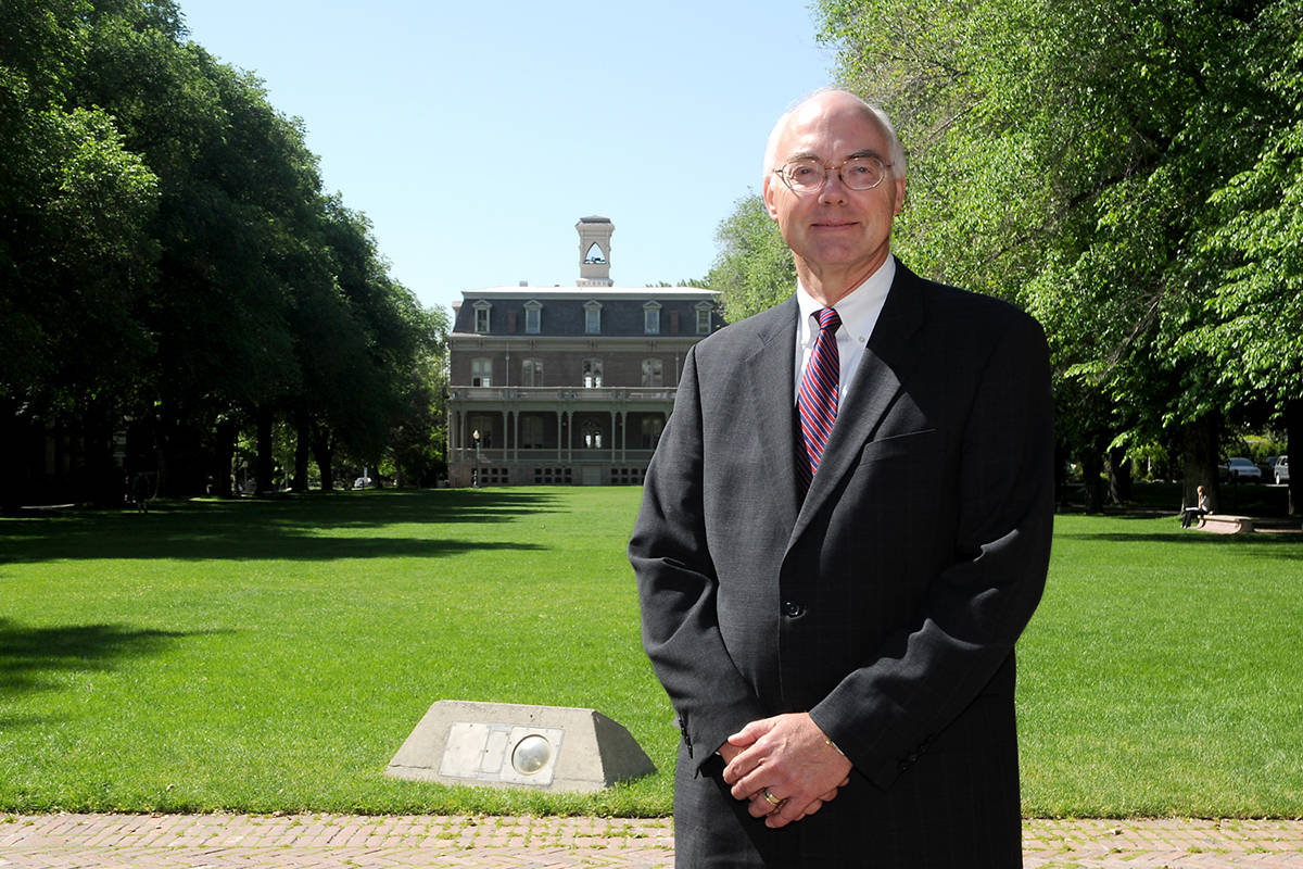 Marc Johnson, President of the University of Nevada, Reno seen in 2011. (Courtesy University of ...