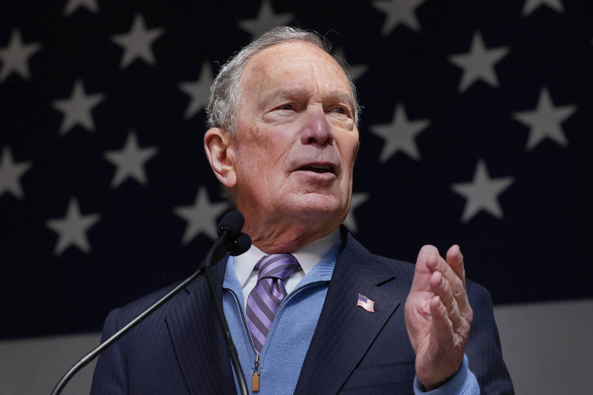 Michael Bloomberg (AP Photo/Michael Wyke)