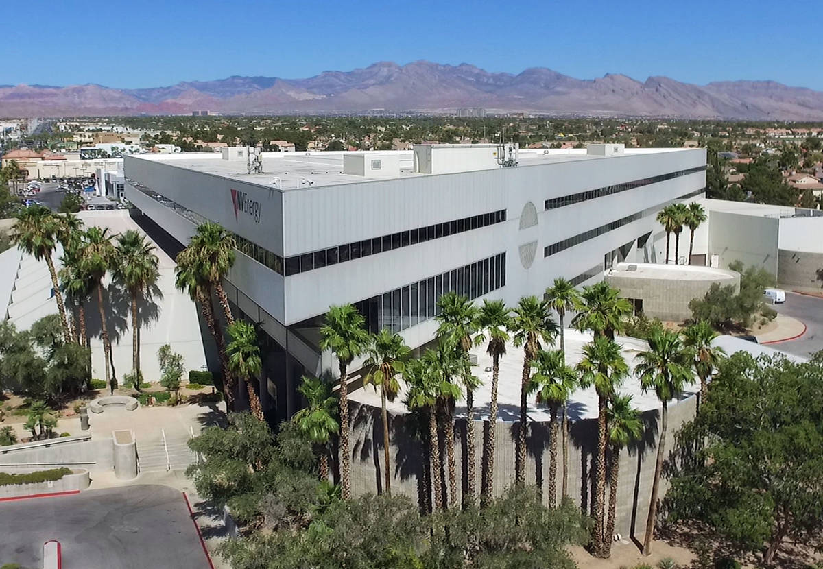 NV Energy's headquarters building on 6226 W. Sahara Ave., photographed on Thursday, July 16, 20 ...