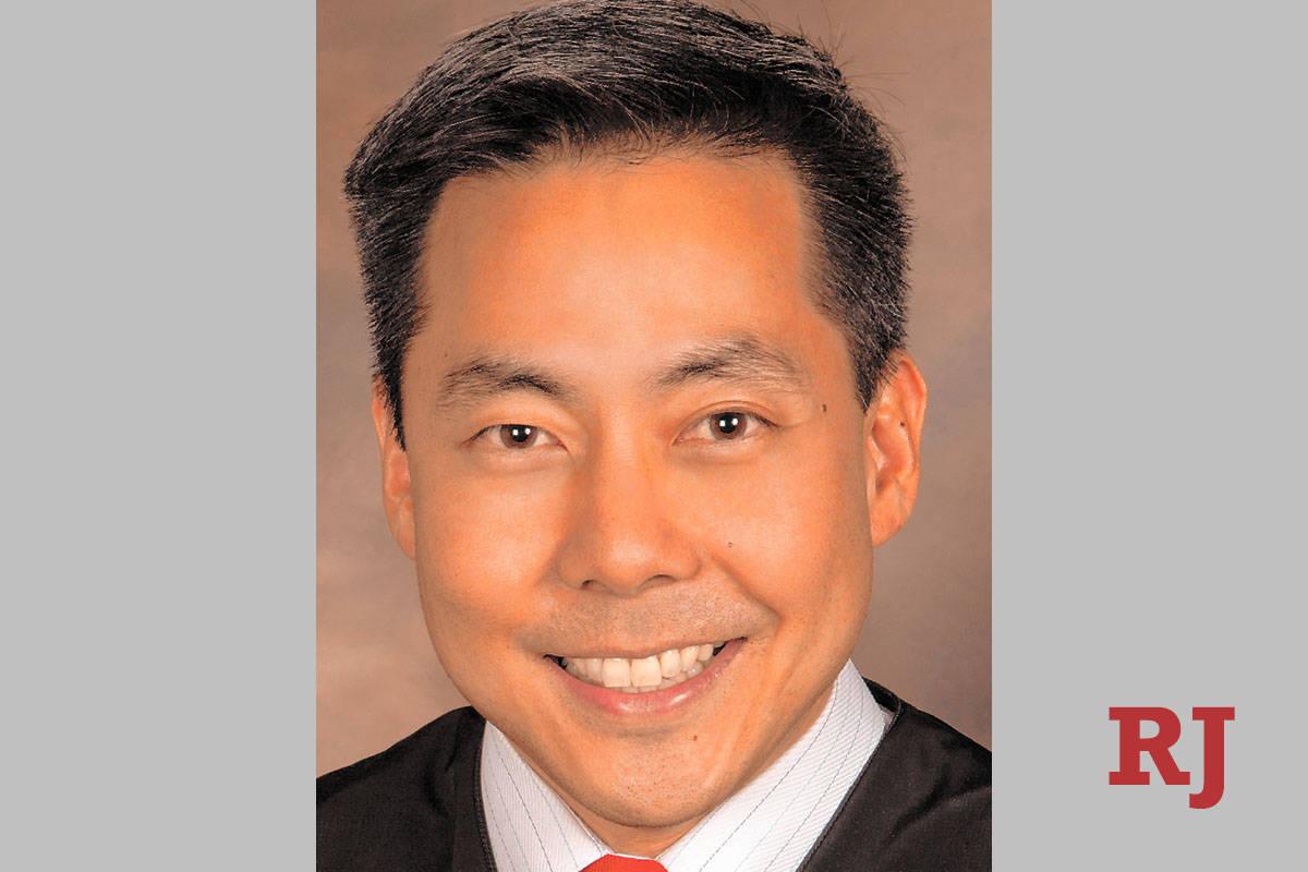 North Las Vegas Justice Court Judge Chris Lee (Las Vegas Review-Journal)