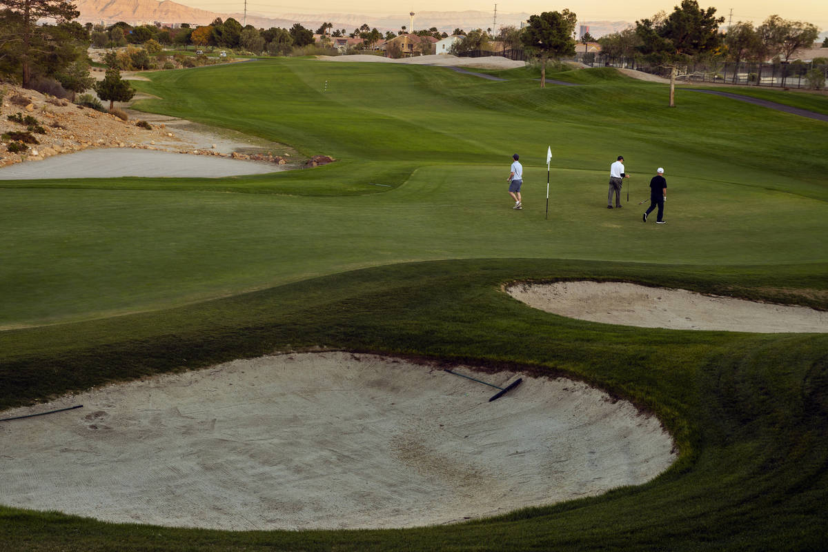 The Palm Course at Angel Park Golf Club on Tuesday, Nov. 12, 2019, in Las Vegas. (L.E. Baskow/L ...