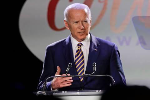 Former vice president Joe Biden (AP Photo/Frank Franklin II)