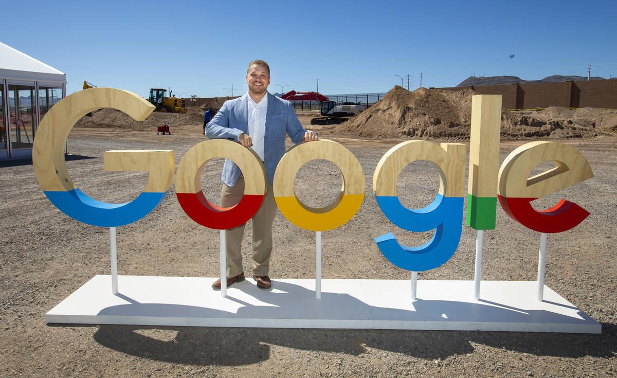 Andrew Silvestri, Google Head of Data Center Public Policy & Community Development, at the ...