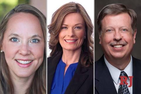 KristeeWatson, left, CarrieBuckandTimHagan, candidates for Nevada ...