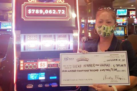 Louise (no last name given) not only won a $789,000 jackpot on Wednesday, Sept. 16, 2020, she w ...