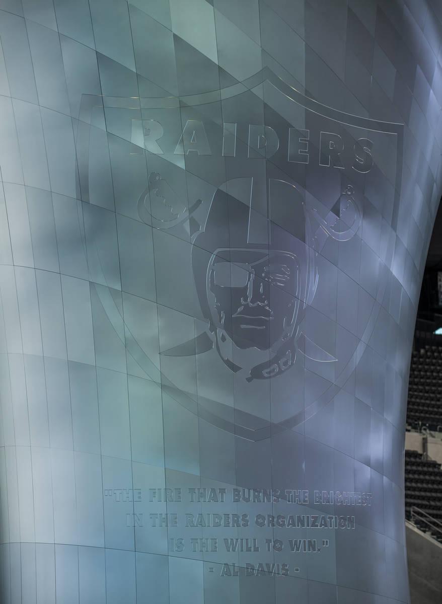 The 85-foot Al Davis Memorial Torch will be lit for the inaugural Las Vegas Raiders opening gam ...