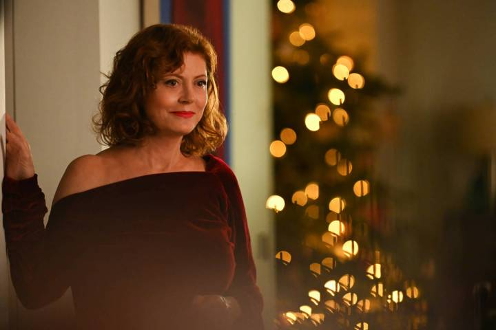 "Susan Sarandon in a scene from ""Blackbird,"" a remake of the 2014 Danish film ""Silent Heart."" (P ..."