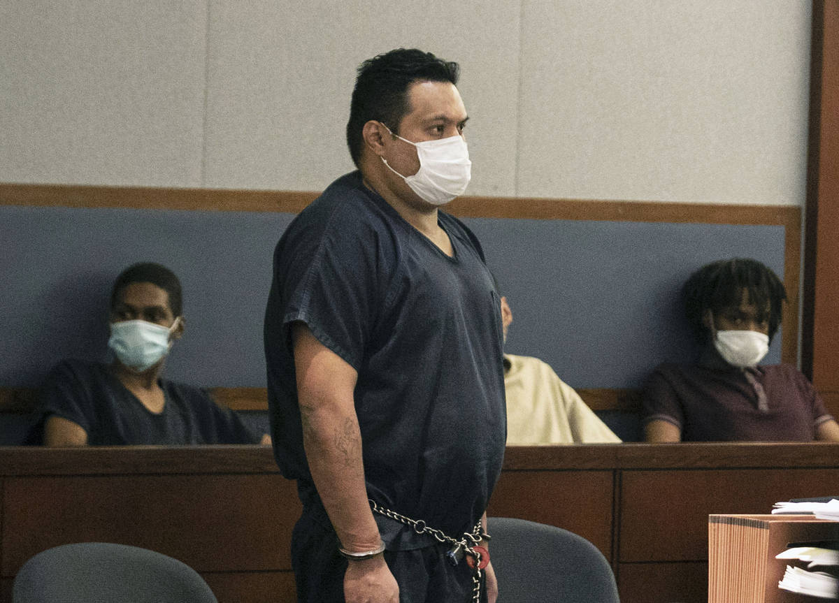 Carlos Figueroa, accused of killing his girlfriend last year and burning her body outside of La ...