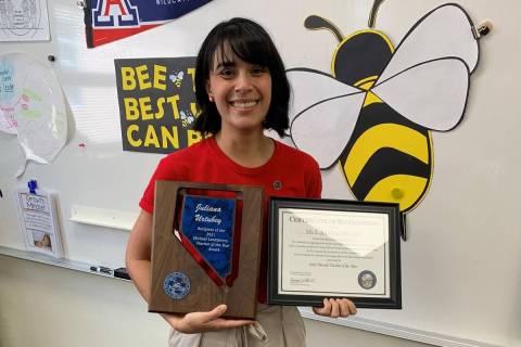 Booker Sr. Innovative Elementary School learning strategist Juliana Urtubey was named Wednesday ...