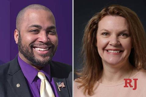 Jay Calhoun and Michelle Gorelow, candidates for Nevada Assembly District 35 (Faceboo ...