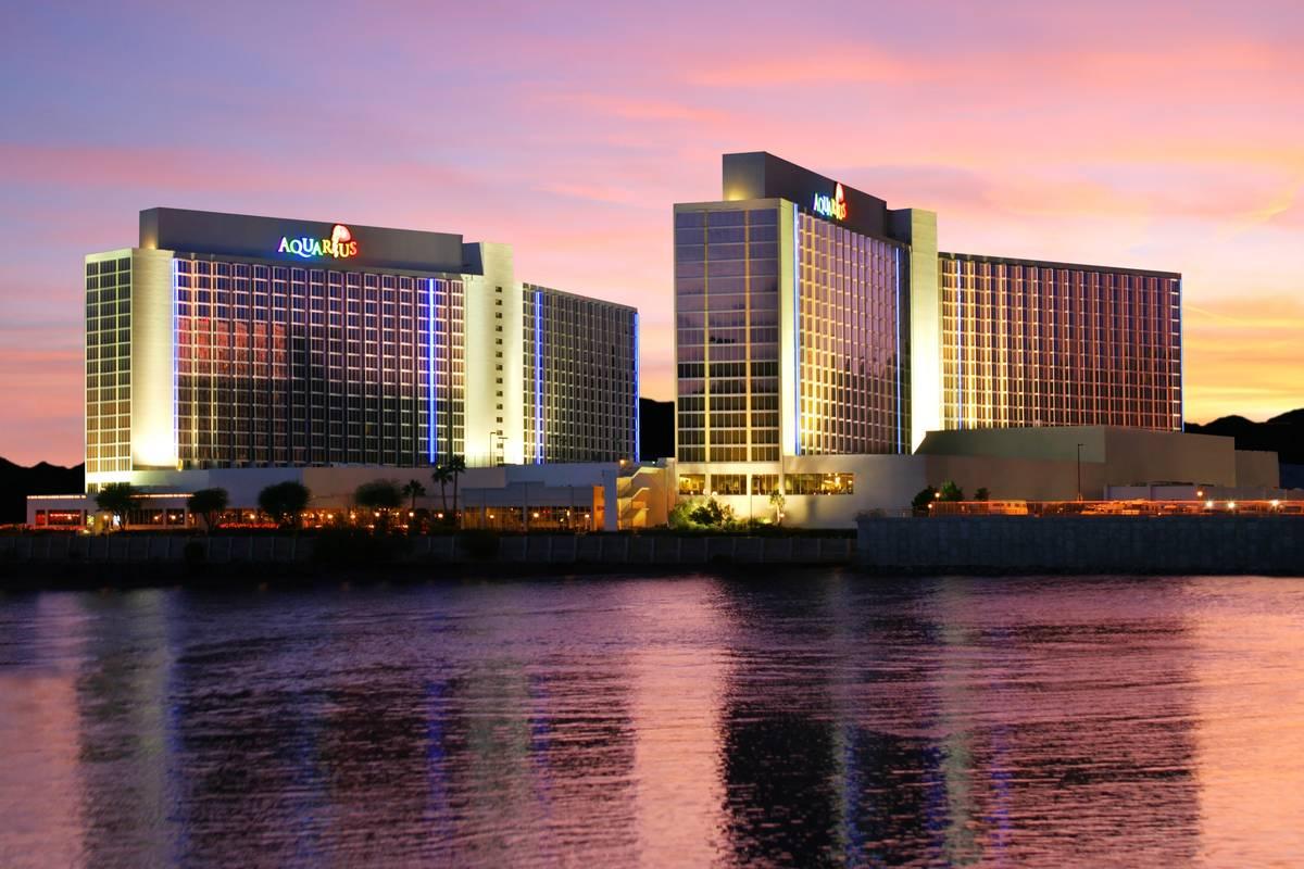 Aquarius hotel-casino. (Golden Entertainment)