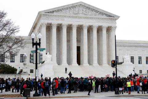 U.S. Supreme Court (AP)