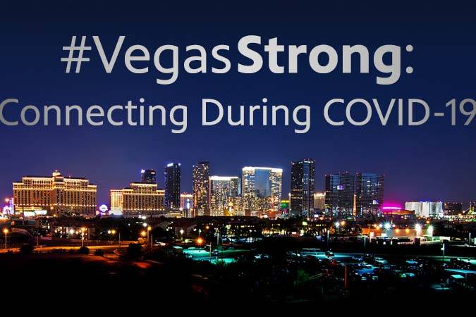"""The Vegas PBS special """"#VegasStrong: Connecting During COVID-19"""" highlights resources avail ..."""